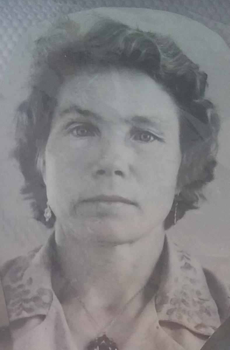 Мазунина (Занина) Валентина Яковлевна