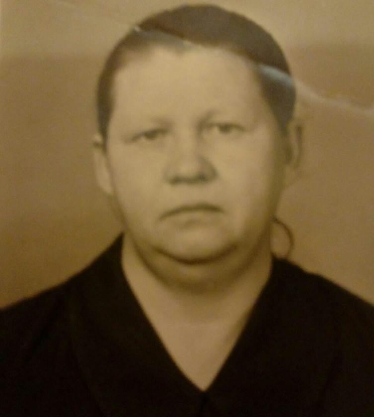Соболева(Комарова) Евдокия Ивановна