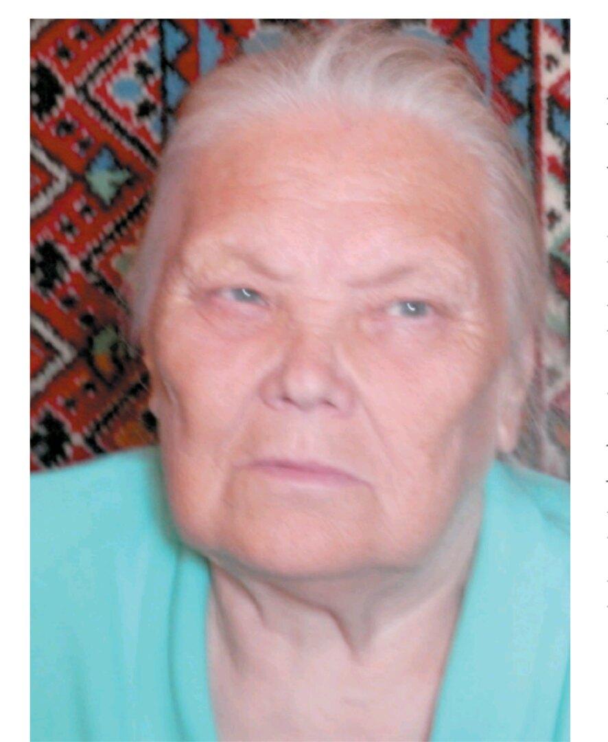 Щенникова Зоя Николаевна