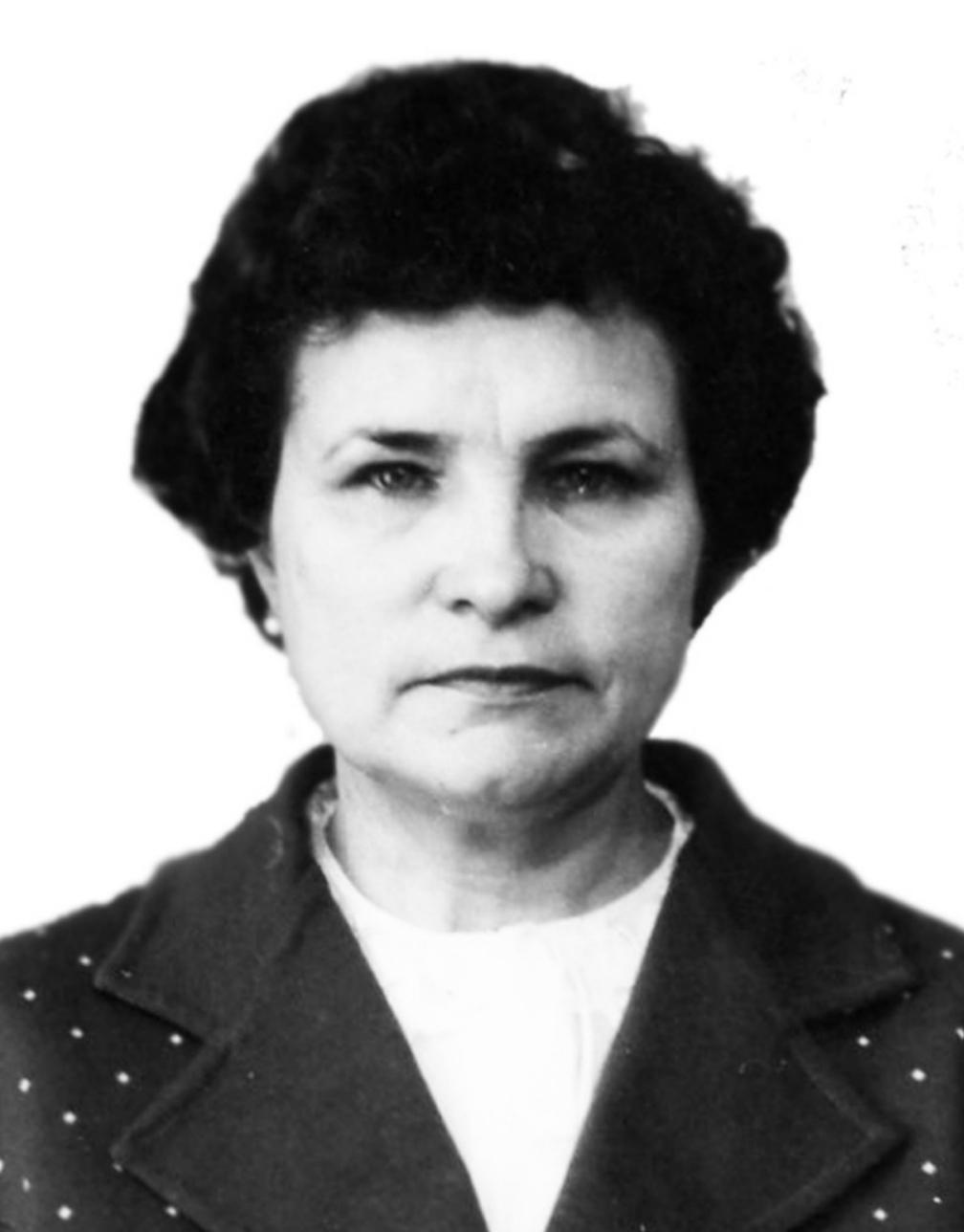 Молчанова Зинаида Ивановна