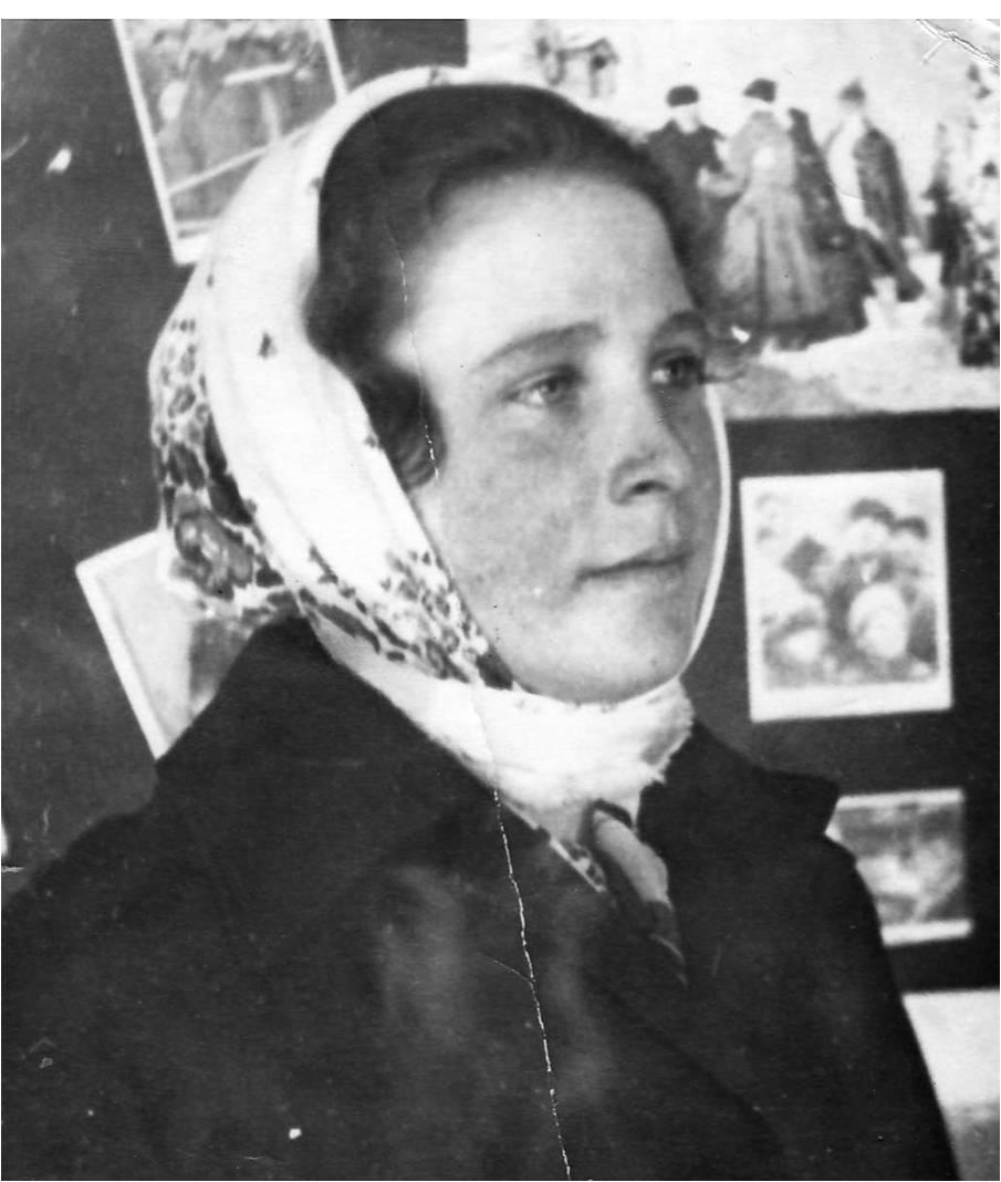 Костьянова (Горшкова) Таисия Тимофеевна