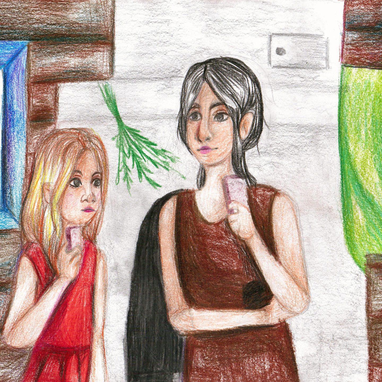 Иллюстрация к рассказу Рузняевой Тамары (автор Толачаева А. 12л)