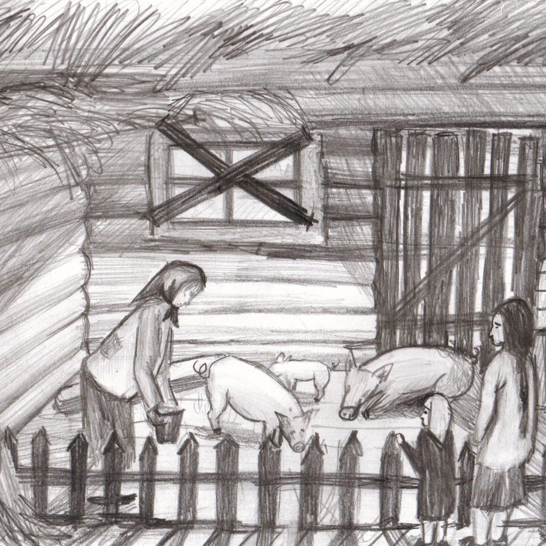 Иллюстрация к рассказу Кошелькова Анатолия (автор Козлова Н. 15л)