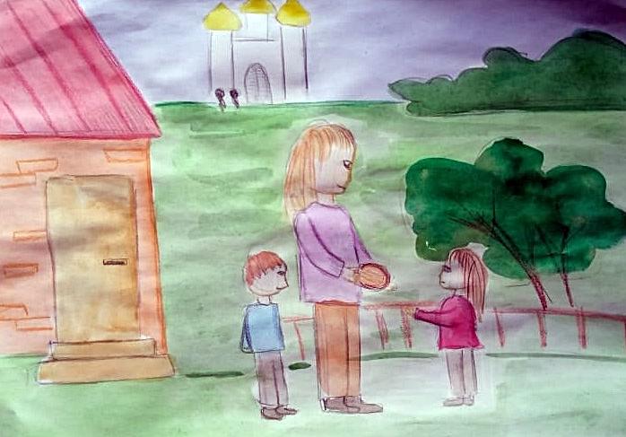 Иллюстрация к рассказу Шутковой  (Платовой ) Капитолины (автор Садыхова О. )